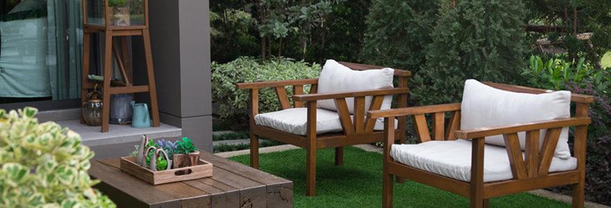Les différents modèles de meubles de jardin