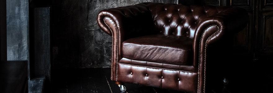 Un fauteuil vintage